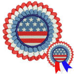4th July Ribbon Added