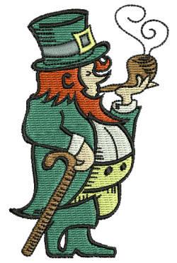 St. Patrick Leprechaun 4x4