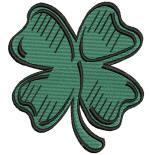 St. Patrick Shamrock 4x4