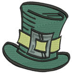 St. Patrick Top Hat 4x4 All Formats