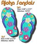 Aloha Sandals 4x4