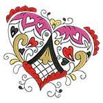 Elegant Ornament Hearts 09