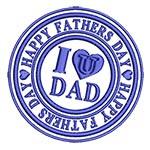 Father's day: I Love U Dad