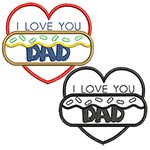 Father's day: Love Heart