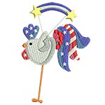 4th July: Patchy Rooster 01