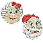 Mr. and Mrs. Santa