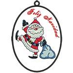 Silly Santa 02 Spanish