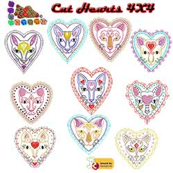 Cat Hearts Collection