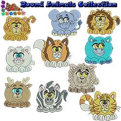 Round Animals Collection