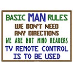 Basic Man Rules