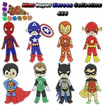 Mini Super Heroes Collection