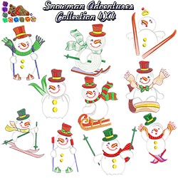 Snowman Adventures Collection