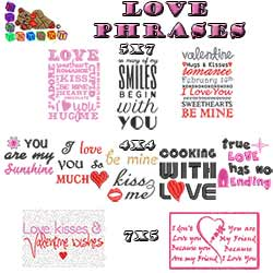 Love Phrases Collection