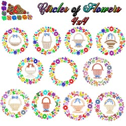 Circles of Flowers Collection