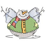 FAT ROUND SNOWMAN