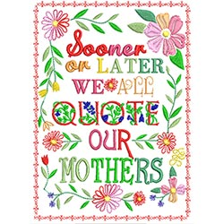Mothers day card 5X7