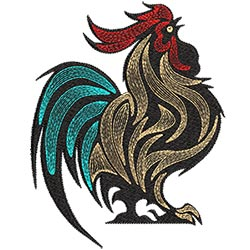 Rooster 5X7