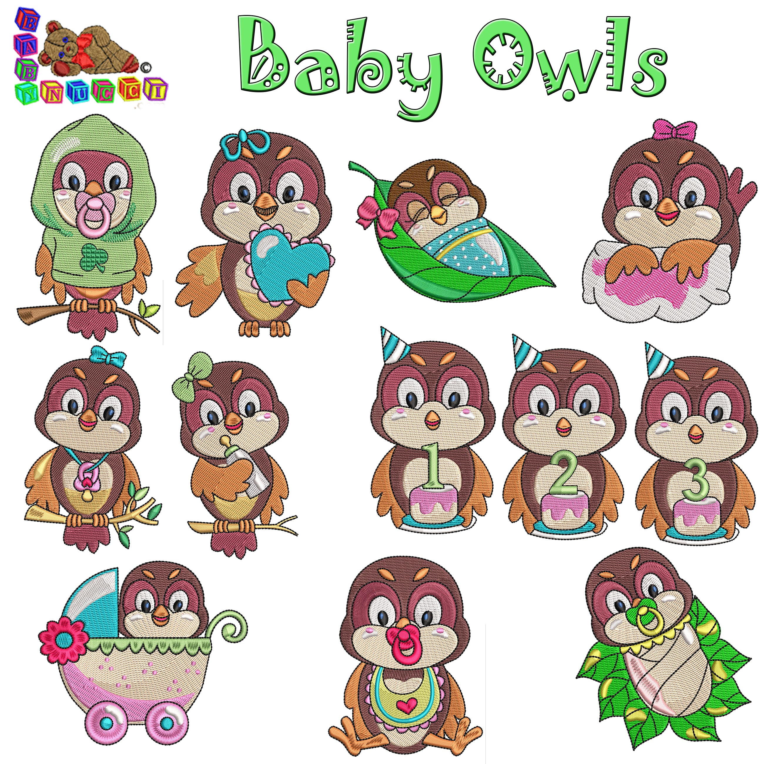 Baby Owls 4X4