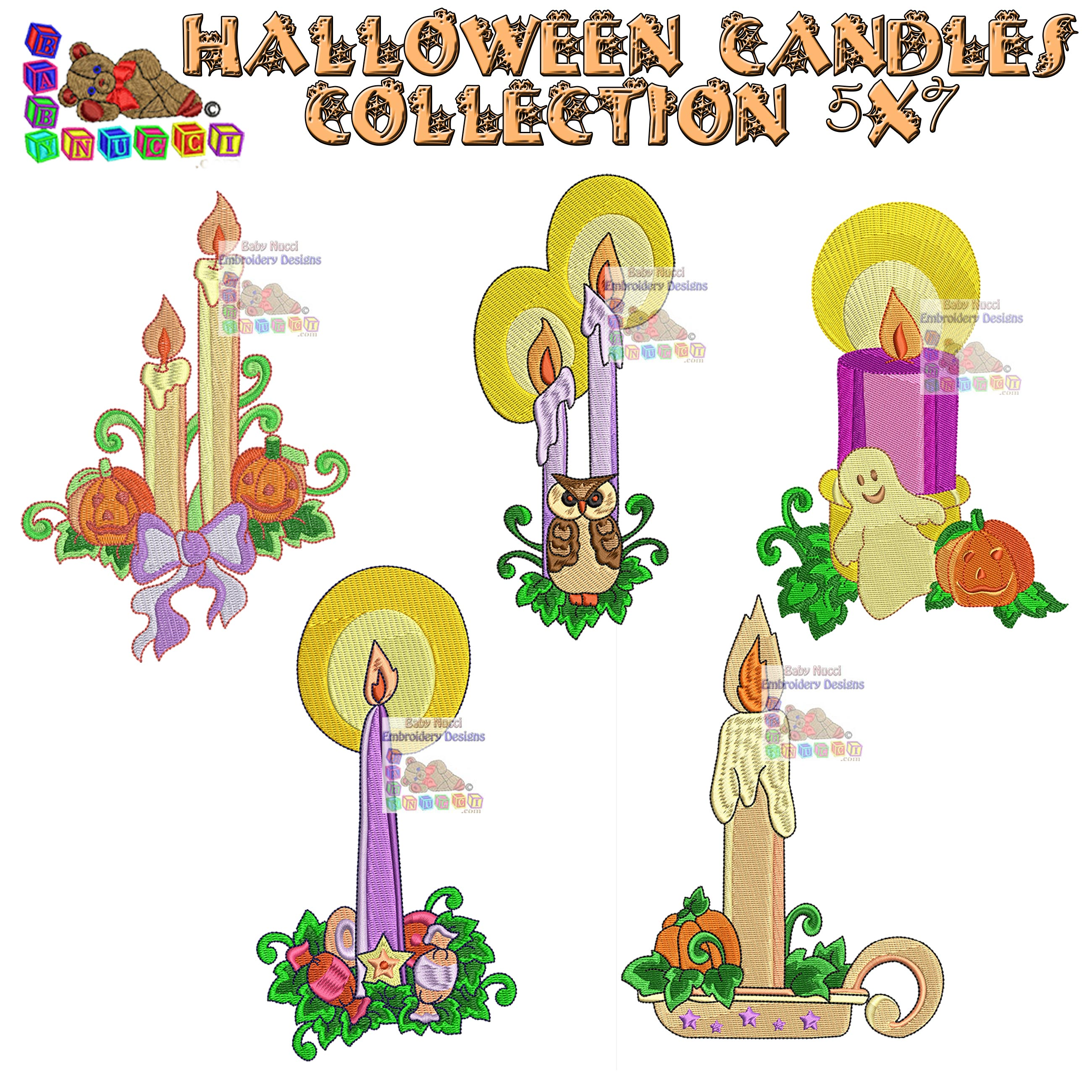 Halloween Candles Collection