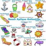 Beach Aplique Collection4x4