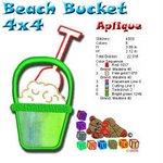 Beach Bucket Beach Collection 4x4
