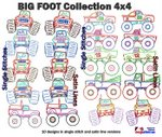 Big Foot Collection 4x4