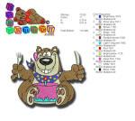 Birthday Bear 4x4