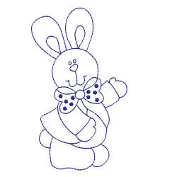 Bluework Easter Bunny Collection