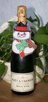 Christmas Bottle Dress Snowman 5x7