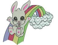 Bunny Farm Rainbow 4x4