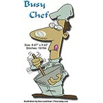 Busy Chef 5x7