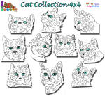 Cat Collection 4x4