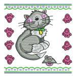 CAT Kitty Portrait