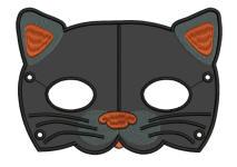 Cat Mask 5x7