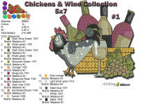 Wine & Chicken 1 5x7