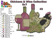 Wine & Chicken 2 5x7