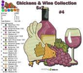 Wine & Chicken 4 5x7