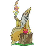 Christmas Wizard  05