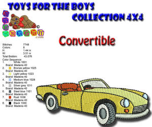 Toys for the Boys Convertible 4x4