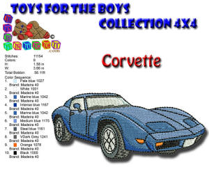 Toys for the Boys Corvette 4x4