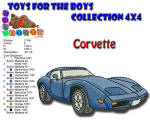 Toys for the Boys Corvette 4x4