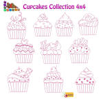 Cupcakes 4x4