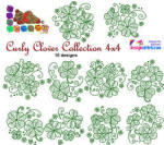 Curly Clover Collection 4x4