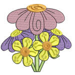 Easter Delight Flowers 1 4x4