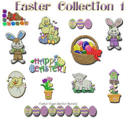 Easter Collection 1 4x4 or 5x7
