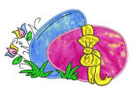 Easter Eggs 2 5x7