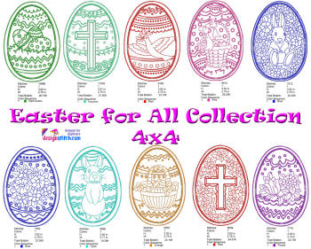 Easter For All Collection 4x4