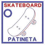 Toys English-Spanish Book Skateboard 04
