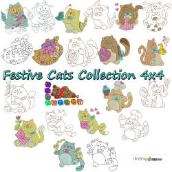 Festive Cats Collection