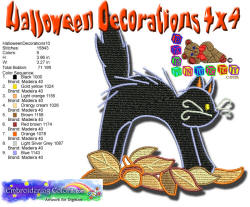 Halloween Decorations 10 4x4